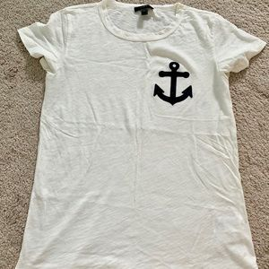 J. Crew Anchor T-Shirt